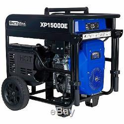 Duromax 15000 Watts V-twin Gas Powered Démarrage Électrique Générateur Portable Nouveau