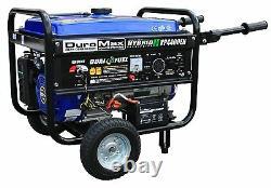 Duromax Générateur Portable Alimenté Double Carburant Propane Gaz Watt Camping Rv Début