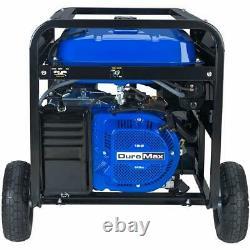 Duromax Xp10000e 10000 W 18-hp Gas Electric Start Generator Rv Home Standby Nouveau