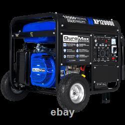 Duromax Xp12000e 12 000 Watts 18 Gaz De Démarrage HP Électrique Portable Alimenté Générateur