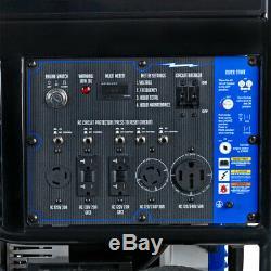 Duromax Xp15000e 15000 Watts V-twin Gas Powered Démarrage Électrique Générateur Portable