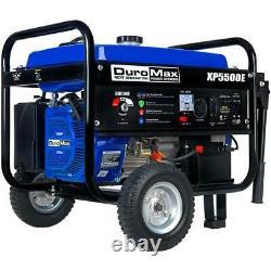 Duromax Xp5500e 5500 Watts 7.5 HP Démarreur Électrique Gas Powered Générateur