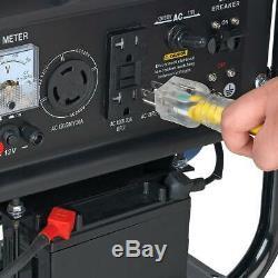 Durostar 4400 Watt Portable Calme Démarreur Électrique Rv Gaz Générateur D'énergie Ds4400e