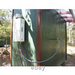Eccotemp L10 Chauffe-eau Portatif À Gaz Propane Sans Réservoir 2,65 Gpm Camping Extérieur