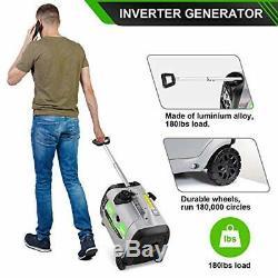 Enkeeo 2300 Watts Gaz Portable Silencieux Powered Inverter Generator Accueil Rv Camping