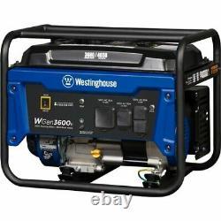 Équipement D'alimentation Extérieure Westinghouse-wgen3600v 3600 Watt De Fonctionnement Gaz Portable