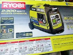 Etanche Ryobi 2300w Bluetooth Gaz Alimenté Inverter Générateur Ryi2300bta Neuf