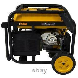 Firman 7125-w 240v Portable Double Gaz Combustible Générateur Alimenté Avec Démarrage Électrique