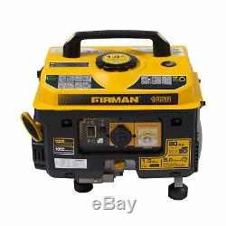 Firman Performance Series P01001 Gas Powered 1050 1350 Watt Portable Generator
