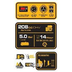 Firman Power Equipment P03602 Alimenté Au Gaz 3650/4550 Watt Générateur Portable Nouveau