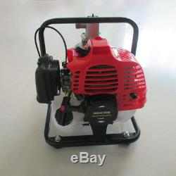 Gas Powered Pompe À Eau D'inondation Irrigation Portable 2hp Transfert Pompe À Eau 43cc États-unis