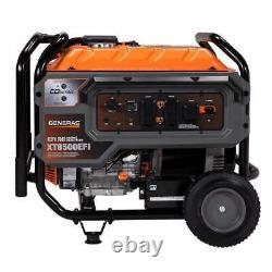 Generac 10,000 W Portable Gas Powered Generator Essence 10kw Nouveau Navire Libre Efi