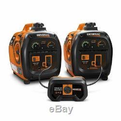 Generac 2000 Watts Gaz Portable Silencieux Powered Inverter Generator Accueil Rv Camping