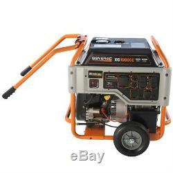 Generac 5802 Xg10000e 10 000 Watt Démarrage Électrique Au Gaz Générateur D'énergie Portable