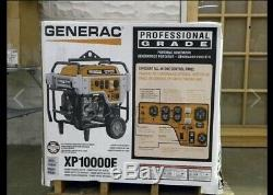 Generac 5932 Xp10000e 10 000 Watt Démarrage Électrique Au Gaz Générateur D'énergie Portable