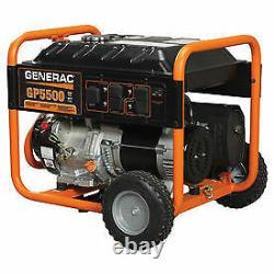 Generac 5939 Gp5500 5500 Watts De Course/6875 Watts De Départ Alimenté Au Gaz Portable