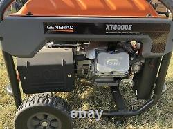 Generac 6433 Xt8000e 8000 Watt Générateur De Démarrage Électrique De Puissance De Gaz Portable