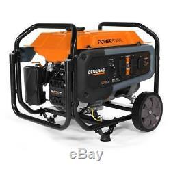 Generac Gp3600 212cc 120 Volts De 30 Ampères Gas Powered Portable Generator 7677