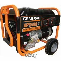 Generac Gp5500 6875 Watt Gaz Portable Local Seulement Powered Pickup Pas De Livraison