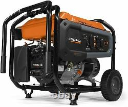 Generac Gp6500 8 125-w Tranquillement Portable Rv Ready Gas Powered Generator Home Backup