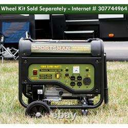 Générateur D'alimentation Portable 4 000/3 500w Gaz Rv Sortie Heavy Duty Construction Nouveau