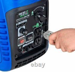 Générateur D'onduleur À Double Carburant À Double Carburant Portable De Duromax 2,200-watt.