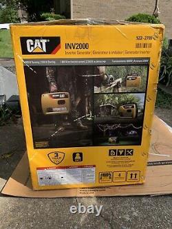 Générateur D'onduleur Portatif Alimenté À Gaz Cat Inv2000 1800w