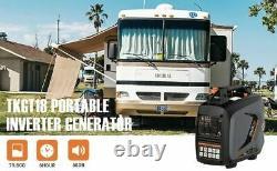 Générateur D'onduleur Tacklife, Générateur D'énergie À Gaz Portatif, 2250 Watts, 53db, 4l