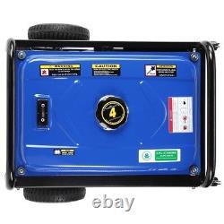 Générateur De Démarrage Électrique Portatif Du Gaz De Duromax 4 400-w 7hp Avec Kit De Roue