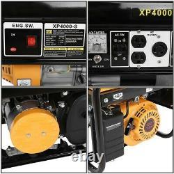 Générateur De Gaz 4 Temps 4000 Watt Emergency Lifan Engine Power Camp Tailgate États-unis