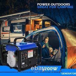 Générateur De Gaz Portable 1200w Maison D'urgence Back Up Power Camping Tailgating Bl