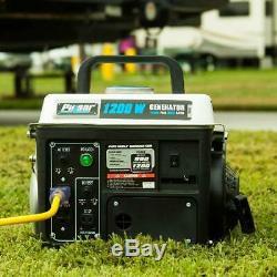 Générateur De Gaz Portable D'énergie Électrique Petit Silencieux Moteur À Essence Camping Rv