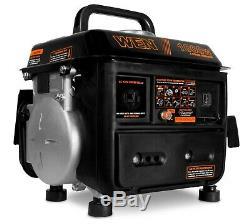 Générateur De Gaz Portable Rv Camper Alimentation Électrique Compact Silencieux Essence Winnebago