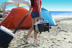 Générateur De Gaz Portable Rv Camping Énergie Électrique Petit Calme Moteur À Essence