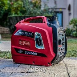 Générateur Inverter 2000 Watt Super Silencieux Gaz Portable Électrique Résidentielle Utilisation À Domicile