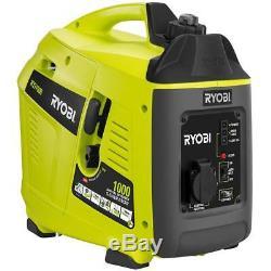 Générateur Inverter Portable Ryobi Gaz De Camping 1000 Pannes Lieux De Travail Puissance Watt