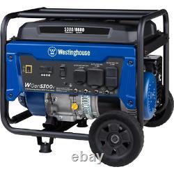 Générateur Portable 6600/5300 Watt Gaz Alimenté Avec Rv Et Commutateur De Transfert Prêt