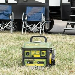 Générateur Portable Alimenté Au Gaz 1000/900 Watt Gaz D'huile MIX Quiet Home Rv Camping