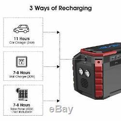 Générateur Portable Power Station 150 Wh Silencieux Gaz Libre Solaire Qc3.0 Ups Lithium Ac