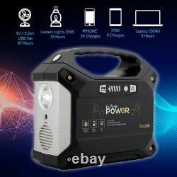 Générateur Portable Serenelife, Centrale De 155wh, Énergie Sans Gaz Silencieux