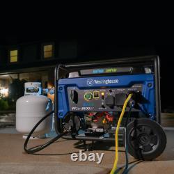 Générateur Portatif 4650/3600 Watt Double Fuel Gas Ou Propane Powered Rv-ready New