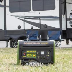 Générateur Portatif 4 000/3 500 Watts À Carburant Double Alimenté Fonctionne Au Gpl Ou Au Gaz Ordinaire