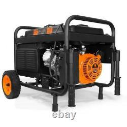 Générateur Portatif Alimenté À L'essence De 4750 Watts Avec Le Chantier De Travail De Démarrage Électrique