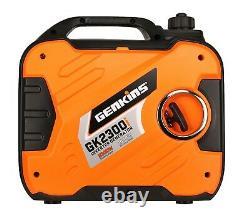 Genkins 2300 Watt Portable Onduleur Générateur De Gaz Alimenté Ultra Tout À Fait