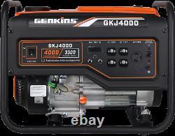 Genkins 4000 Watt Générateur De Secours Alimenté Au Gaz Rv Prêt