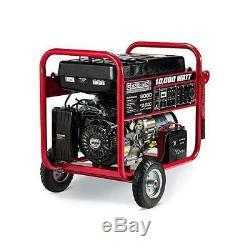 Gentron 10000 Watt Alimentée Au Gaz Générateur Portable Avec Démarrage Électrique Gg10020c