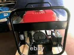 Gillette Gpe-125eh-3-2 Générateur Portatif À Gaz Alimenté Honda 3 Phases 12500 Watt
