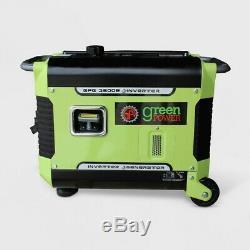 Green Power 3500 W-gaz Portable Silencieux À Propulsion Électrique De Démarrage Onduleur Générateur