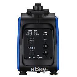 Handewerk 2000 Watt Générateur Inverter Portable Super Silencieux Gaz Carb / Epa Powered