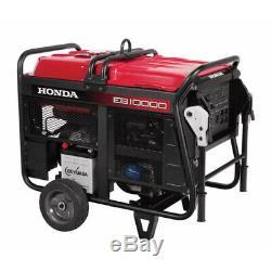 Honda 10000 Watt Démarreur Électrique Portable Home Gaz Générateur D'énergie Rv Eb10000